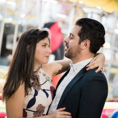 Engagement Pictures at South Florida Fair-1