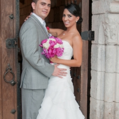 Spanish Monastery Wedding -13