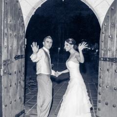 Spanish Monastery Wedding -21